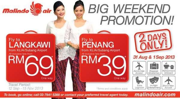 Malindo Air Big Weekend Promotion