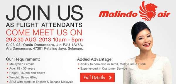 Malindo Air Job Vacancy
