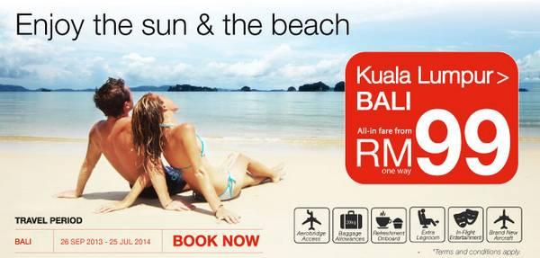 Malindo Air Promotion (KL-Bali)