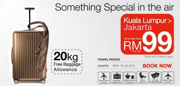 Malindo Air Promotion (KL - Jakarta)