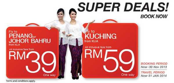 Malindo Air Super Deals Promotion