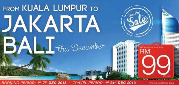 Malindo Air Promotion to Jakarta & Bali
