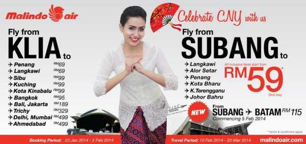 Malindo Air CNY Promotion 2014