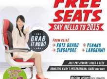 Malindo Air Free Seats Promotion
