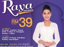 Malindo Air Raya Holidays Promotion