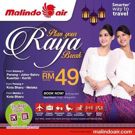 Malindo Air Raya Sale 2015
