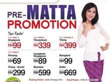 Malindo Air Pre-Matta Promotion