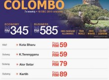 Malindo Air Promotion To Colombo