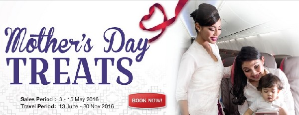 Malindo Air Mothers Day Sale