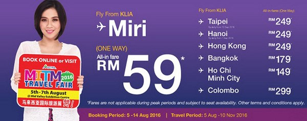 Malindo Air MITM Travel Fair 2016