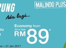 Malindo Air Balik Kampung Promotion